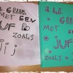 juf cadeau geschreven door de leerling